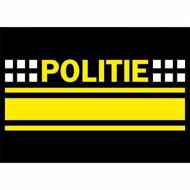 Goedkope politie logo sticker .