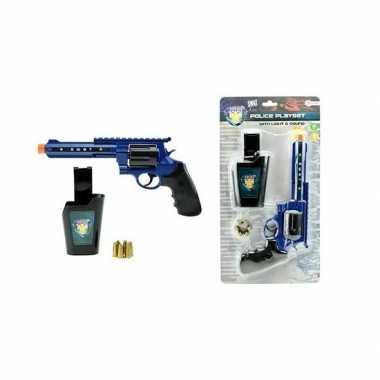 Goedkope politie speelgoed pistool set licht geluid