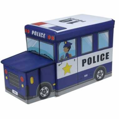 Goedkope politieauto opbergbox