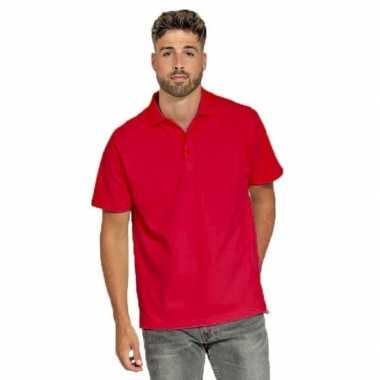 Goedkope polo shirt rood heren