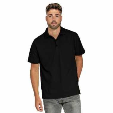 Goedkope polo shirt zwart heren