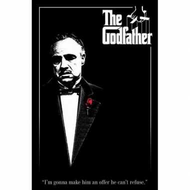Goedkope poster the godfather ,