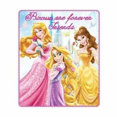 Goedkope prinsessen fleece deken meisjes