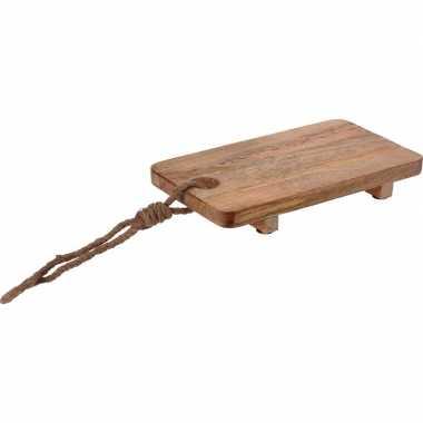 Goedkope robuuste mango houten snijplank/serveerplank