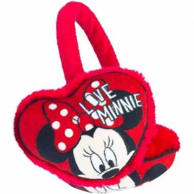 Goedkope rode minnie mouse oorwarmers meisjes