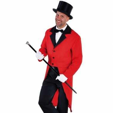 Goedkope rode slipjas zwarte hoge hoed maat m