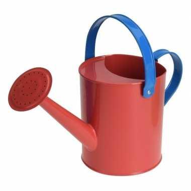 Goedkope rode stalen speelgoed gieter kinderen