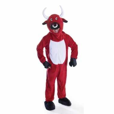 Goedkope rode stier kostuum volwassenen