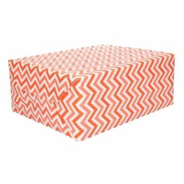 Goedkope rollen inpakpapier zig zag design rol