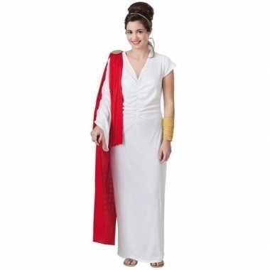 Goedkope romeinse keizerin verkleed kostuum dames