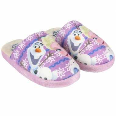 Goedkope roze frozen pantoffels meisjes