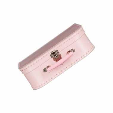 Goedkope roze kinder speelgoed koffertje