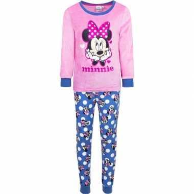 Goedkope roze minnie mouse pyjama meisjes