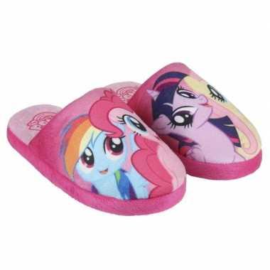 Goedkope roze my little pony pantoffels meisjes