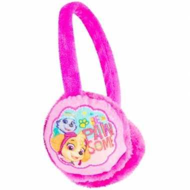 Goedkope roze paw patrol oorwarmers meisjes