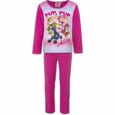 Goedkope roze paw patrol pyjama meisjes