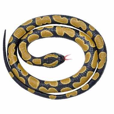 Goedkope rubberen speelgoed koningspython slang