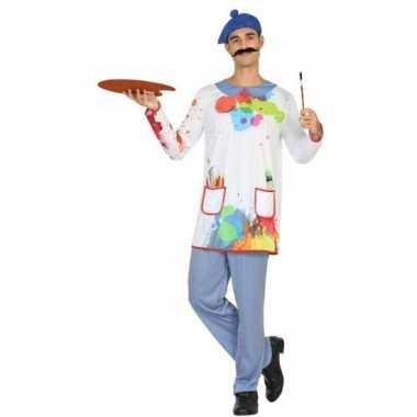 Goedkope schilder verkleed pak/kostuum heren