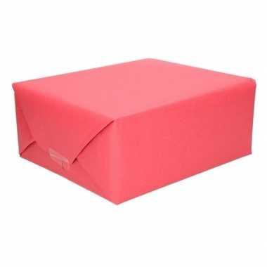 Goedkope schoolboeken kaftpapier rood rol