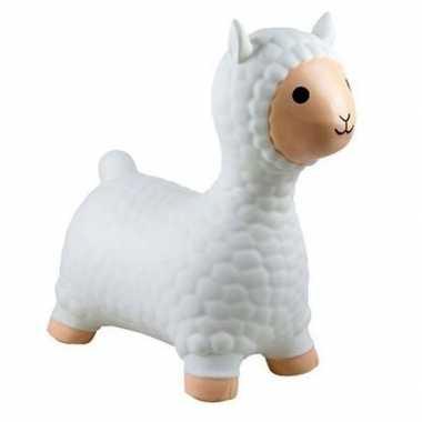 Goedkope skippybal alpaca/lama wit