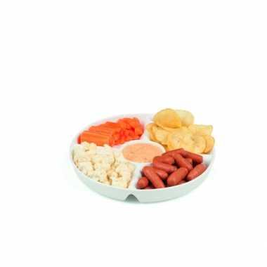 Goedkope snackschaal porselein vaks