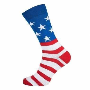Goedkope sokken usa/ amerika dames heren