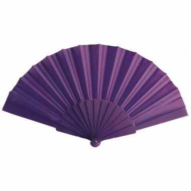 Goedkope spaanse handwaaier paars