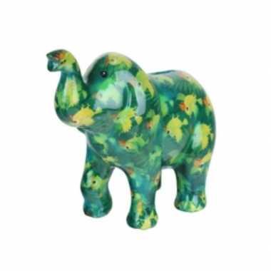 Spaarpot olifant groen vogel goedkope