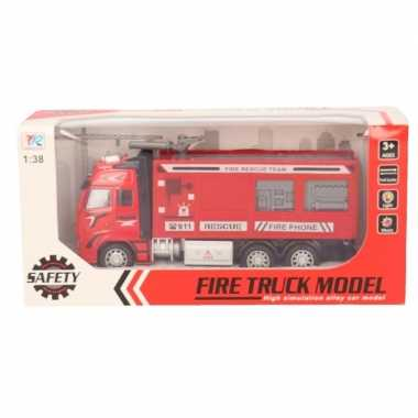Goedkope speelgoed auto brandweerwagen/blusauto