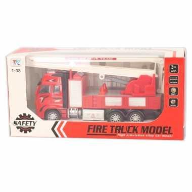 Goedkope speelgoed auto brandweerwagen hijskraan