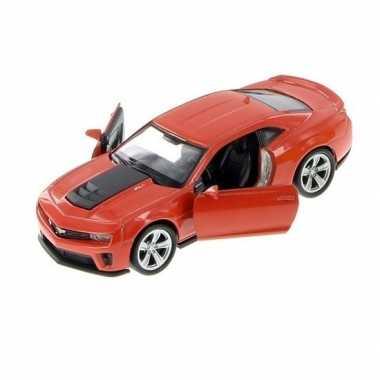 Goedkope speelgoed auto licht rode chevrolet camaro zl auto :