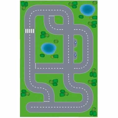 Goedkope speelgoed autowegen stratenplan wegplaten dorpje xl set kart