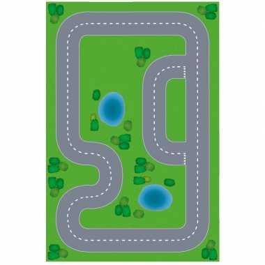 Goedkope speelgoed autowegen stratenplan wegplaten racecircuit set ka