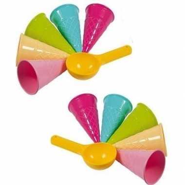 Goedkope speelgoed ijskraam ijsjes zandvormen