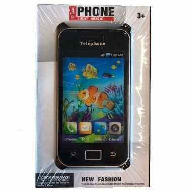 Goedkope speelgoed smartphone zwart