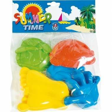 Goedkope speelgoed strand zandvormen/figuren