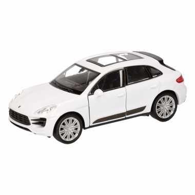 Goedkope speelgoed witte porsche macan turbo auto