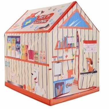 Goedkope speeltent/speelhuis dierenkliniek