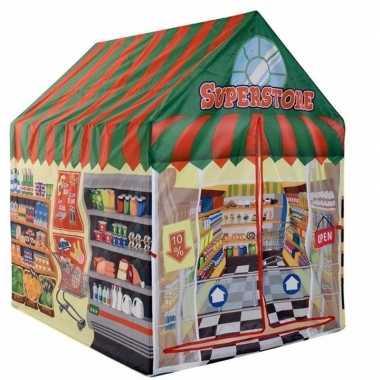 Goedkope speeltent/speelhuis supermarkt
