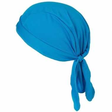 Goedkope sport bandana volwassen blauw