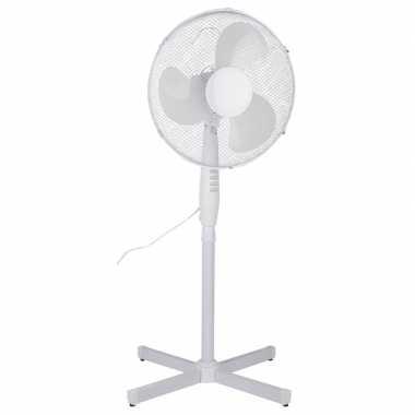 Goedkope staande ventilator wit