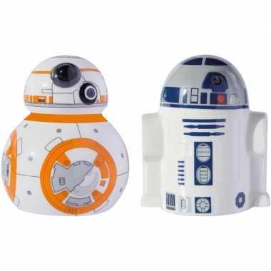 Goedkope star wars peper zoutstel bb r d robots/droids