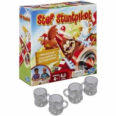Goedkope stef stuntpiloot drankspel/drinkspel shotglazen