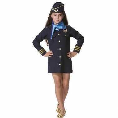 Goedkope stewardess kostuum meisjes