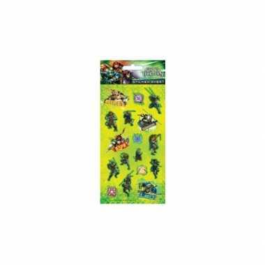 Goedkope stickervel ninja turtles