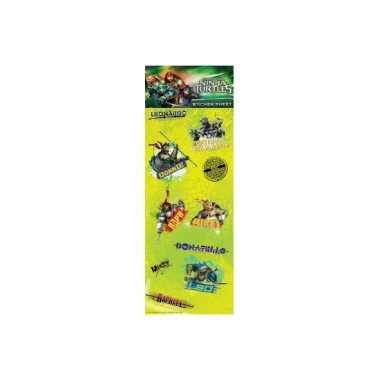 Goedkope stickervel teenage ninja turtles