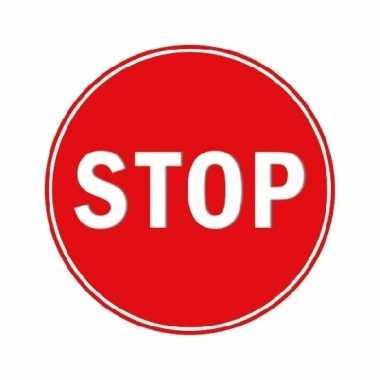 Goedkope stopbord stickers