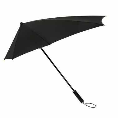 Goedkope stormaxi storm paraplu zwart windproof