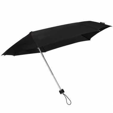 Goedkope stormini opvouwbare storm paraplu zwart