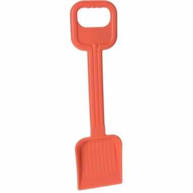 Goedkope strand/zandbak speelgoed oranje schep